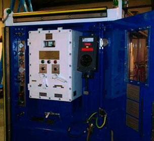 Zone 2 Generator Instrumentation and Control Panels
